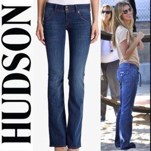 Denim - Hudson Beth Baby Bootcut Jeans